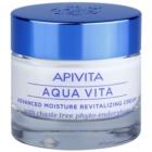 Apivita Aqua Vita crema idratante e rivitalizzante intensa per pelli normali e secche