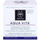 Apivita Aqua Vita intenzivna vlažilna in revitalizacijska krema za normalno in suho kožo