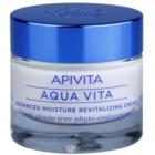 Apivita Aqua Vita krema za intenzivnu hidrataciju i revitalizaciju za mješovitu i masnu kožu lica
