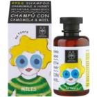 Apivita Kids Chamomile & Honey успокояващ шампоан за деца