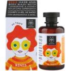 Apivita Kids Tangerine & Honey šampón a sprchový gél 2 v 1 pre deti