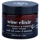 Apivita Wine Elixir Red Wine & Beeswax nočný spevňujúci a protivráskový krém