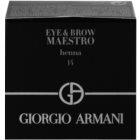 Armani Eye & Brow Maestro barva na obočí  a oční linku
