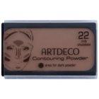 Artdeco Contouring Powder konturovací pudr