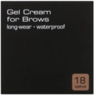 Artdeco Gel Cream for Brow Long Wear Waterproof pomada do brwi wodoodporna