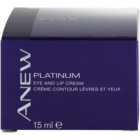 Avon Anew Platinum Cream For Eye Area And Lips