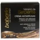 Babaria Snake Venom denný a nočný protivráskový krém s hadím jedom