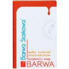 Barwa Sulphur sapone solido per pelli grasse e problematiche