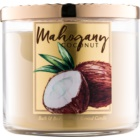 Bath & Body Works White Barn Mahogany Coconut vonná sviečka 411 g