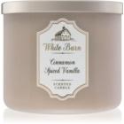 Bath & Body Works White Barn Cinnamon Spiced Vanilla lumanari parfumate  411 g