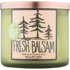 Bath & Body Works Camp Winter Fresh Balsam illatos gyertya  411 g