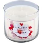 Bath & Body Works Japanese Cherry Blossom vonná sviečka 411 g