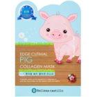 Belleza Castillo Edge Cutimal Pig Gesichtsmaske mit Kollagen
