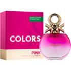 Benetton Colors de Benetton Pink toaletní voda pro ženy 80 ml