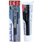 Beverly Hills Formula Perfect White Black bieliaca zubná pasta s aktívnym uhlím pre svieži dych