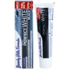 Beverly Hills Formula Perfect White Black bleichende Zahnpasta mit Aktivkohle für frischen Atem