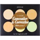 BH Cosmetics 6 Color palette de correcteurs