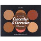 BH Cosmetics 6 Color paleta korektorů