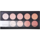 BHcosmetics 10 Color korrektor- és make-up paletta