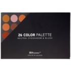 BHcosmetics 26 Color szemhéjfesték és arcpirosító paletta