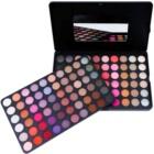 BH Cosmetics 120 Color 5th Edition paleta de sombras de ojos con un espejo pequeño