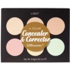 BHcosmetics 6 Color palette de correcteurs