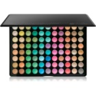 BHcosmetics 88 Color Matte paleta očných tieňov so zrkadielkom