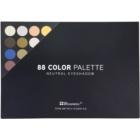 BH Cosmetics 88 Color Neutral palette di ombretti con specchietto