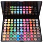 BHcosmetics 88 Color Shimmer Palette mit Lidschatten inkl. Spiegel und Pinsel