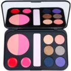 BH Cosmetics Forever Glam die Palette dekorativer Kosmetik mit Spiegel
