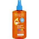 Bielenda Bikini Argan Oil ulei spray pentru bronzare SPF 6