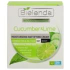 Bielenda Cucumber&Lime hydratační matující krém pro smíšenou a mastnou pleť