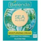 Bielenda Sea Algae Moisturizing Creme gegen die ersten Zeichen von Hautalterung 40+