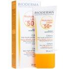 Bioderma Photoderm Laser сонцезахисний крем проти пігментних плям SPF 50+