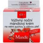 Bione Cosmetics Almonds hranjiva noćna krema za vrlo suho i osjetljivo lice
