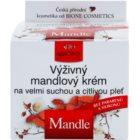 Bione Cosmetics Almonds hranilna krema za zelo suho in občutljivo kožo