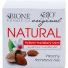 Bione Cosmetics Almonds extra nährende Crem für sehr trockene und empfindliche Haut