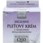 Bione Cosmetics Exclusive Q10 crème visage à l'acide hyaluronique