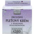 Bione Cosmetics Exclusive Q10 krema za lice s hijaluronskom kiselinom