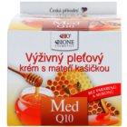 Bione Cosmetics Honey + Q10 hranjiva krema s matičnom mliječi