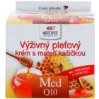 Bione Cosmetics Honey + Q10 nährende Creme mit Gelée Royal