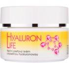 Bione Cosmetics Hyaluron Life noční pleťový krém s kyselinou hyaluronovou