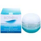 Biotherm Aquasource leichte feuchtigkeitsspendende Creme für normale Haut und Mischhaut