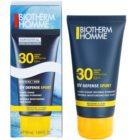 Biotherm Homme UV Defense Sport αντηλιακό υγρό για πρόσωπο SPF30