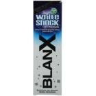 BlanX White Shock dentifrice blanchissant pour un sourire brillant