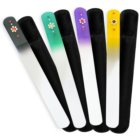 Bohemia Crystal Swarovski Big Nail File with Flower lima de uñas