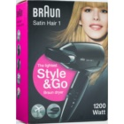 Braun Satin Hair 1 Style & Go HD 130 cestovní fén na vlasy