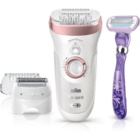 Braun Silk-épil 9 SensoSmart Wet & Dry 9/870 Epilator with Intelligent Pressure Sensor
