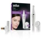 Braun Face  810 epilátor tisztító kefével az arcra