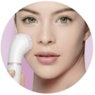 Braun Face  810 depilator z szczoteczką do czyszczenia do twarzy